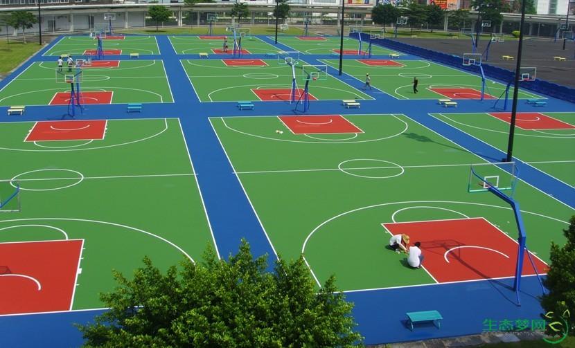篮球半场矢量图