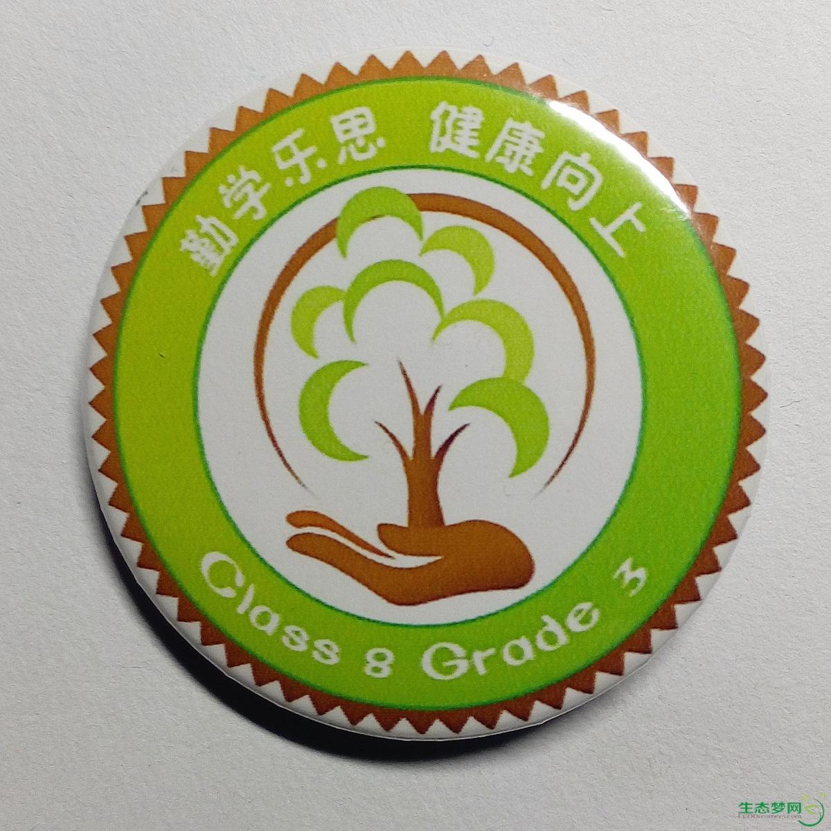 三年级设计手绘班徽
