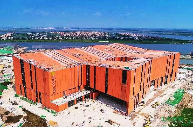 9月28日,生态城中新友好图书馆开馆!