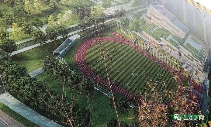 招生规模1200人!生态城这所高中建起来了