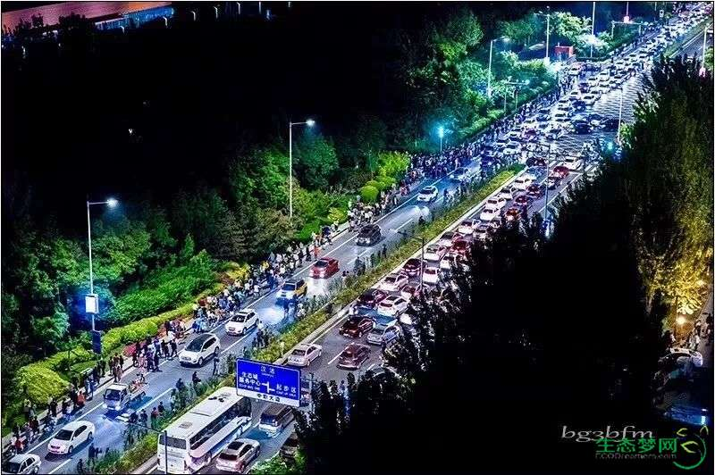9月28日晚,全滨海聚焦生态城