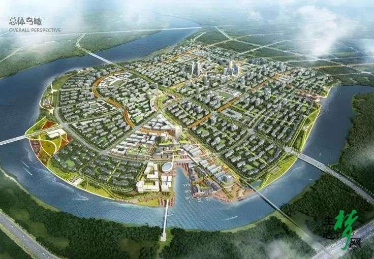 生态城北部片区最新规划出炉